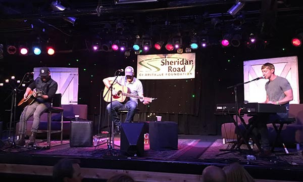 Sheridan Road Charitable Foundation – Songwriters in the Round!!!